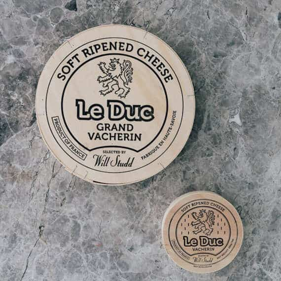 Le Duc Vacherin Will Studd Selected Cheese
