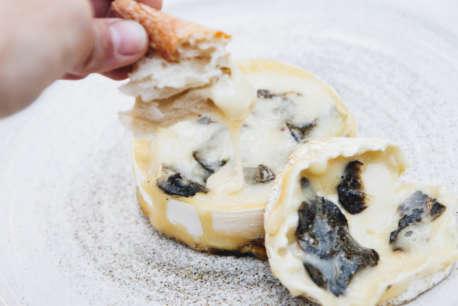 truffle baked camembert